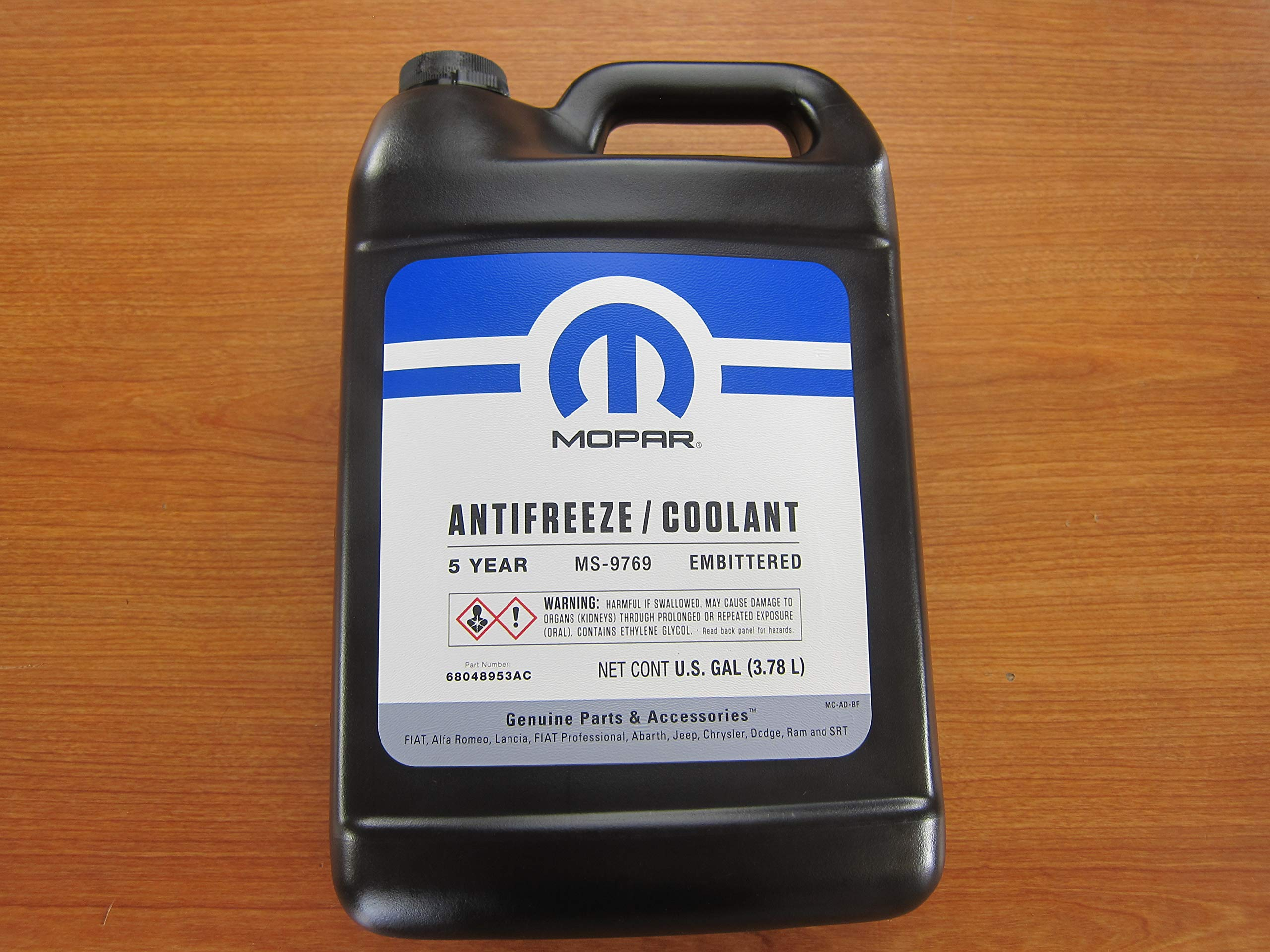 Mopar Chrysler Dodge Jeep Ram Five Year Formula Antifreeze/Coolant New OEM