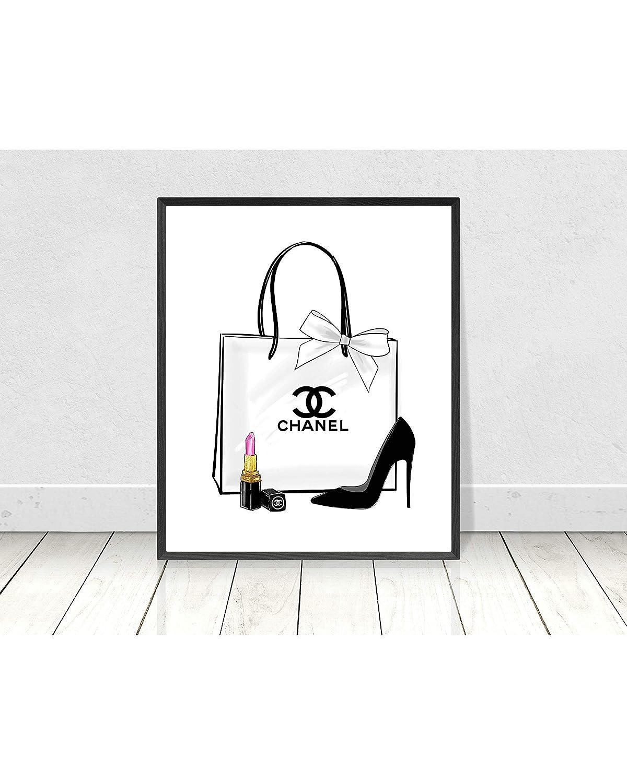 photo regarding Printable Chanel Logo known as : King65irginia Chanel Wall Artwork Chanel Printable