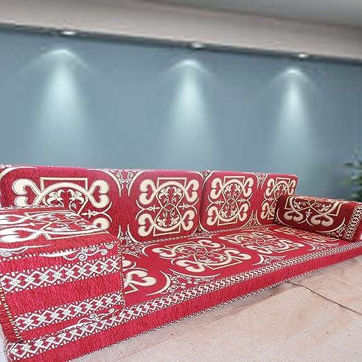 Spirit Hecho a Mano Suelo sofá Set Majlis, árabe, Árabe ...