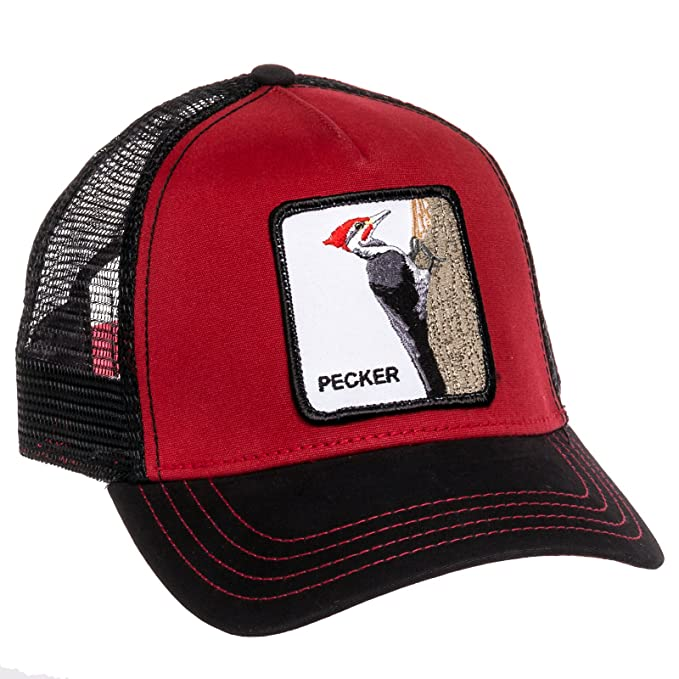 db477ef5b2d Image Unavailable. Image not available for. Color  Goorin Bros Mens Woody  Pecker Animal Trucker Baseball Cap ...