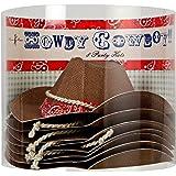 MERI MERI Howdy Cowboy Party Hat, 8 Per Box