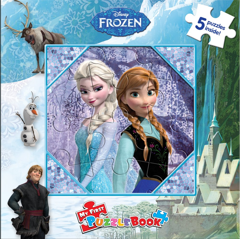 Download Disney Frozen My First Puzzle Book PDF