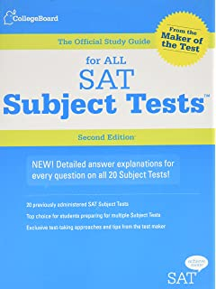 Amazon the official sat subject test in chemistry study guide the official study guide for all sat subject tests 2nd edition fandeluxe Gallery