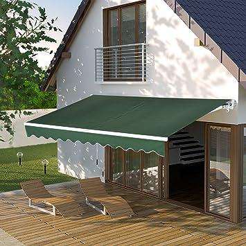 Amazon De Grun 33 X 20 3 Cm Manuelle Himmel Terrasse Deck Roll