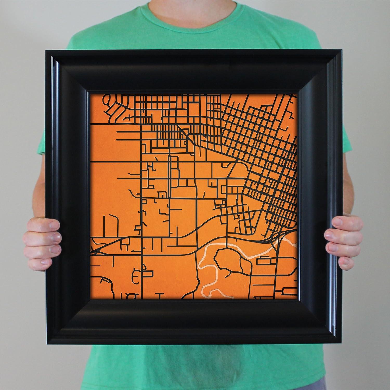 Amazon.com: City Prints Oregon State University Campus Map ...