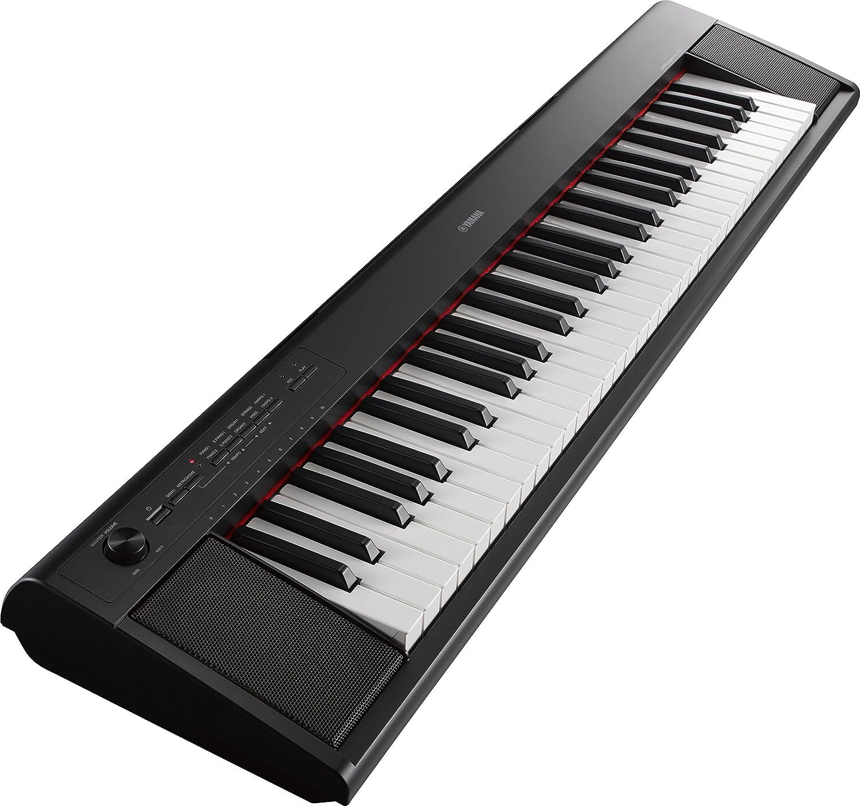 Yamaha NP-12B Teclado electr/ónico color negro 61 teclas, 64 voces de polifon/ía, 10 presets de sonido