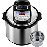 Gtime MultiPot 18-in-1 Programmable Pressure Cooker 6 Quarts with Stainless Steel Pot, Steamer Basket, Pressure cook, slow cook, sauté, rice cooker, yogurt, steam