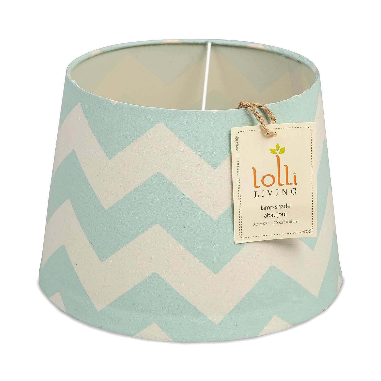 Amazon.com : Lolli Living Aqua Zig-Zag Lamp Base : Nursery Decor ...