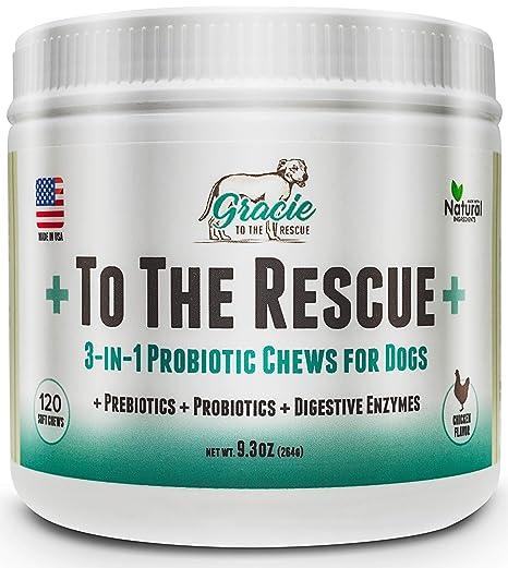Amazon.com: A la Rescue+ Probióticos para Perros - Todos los ...