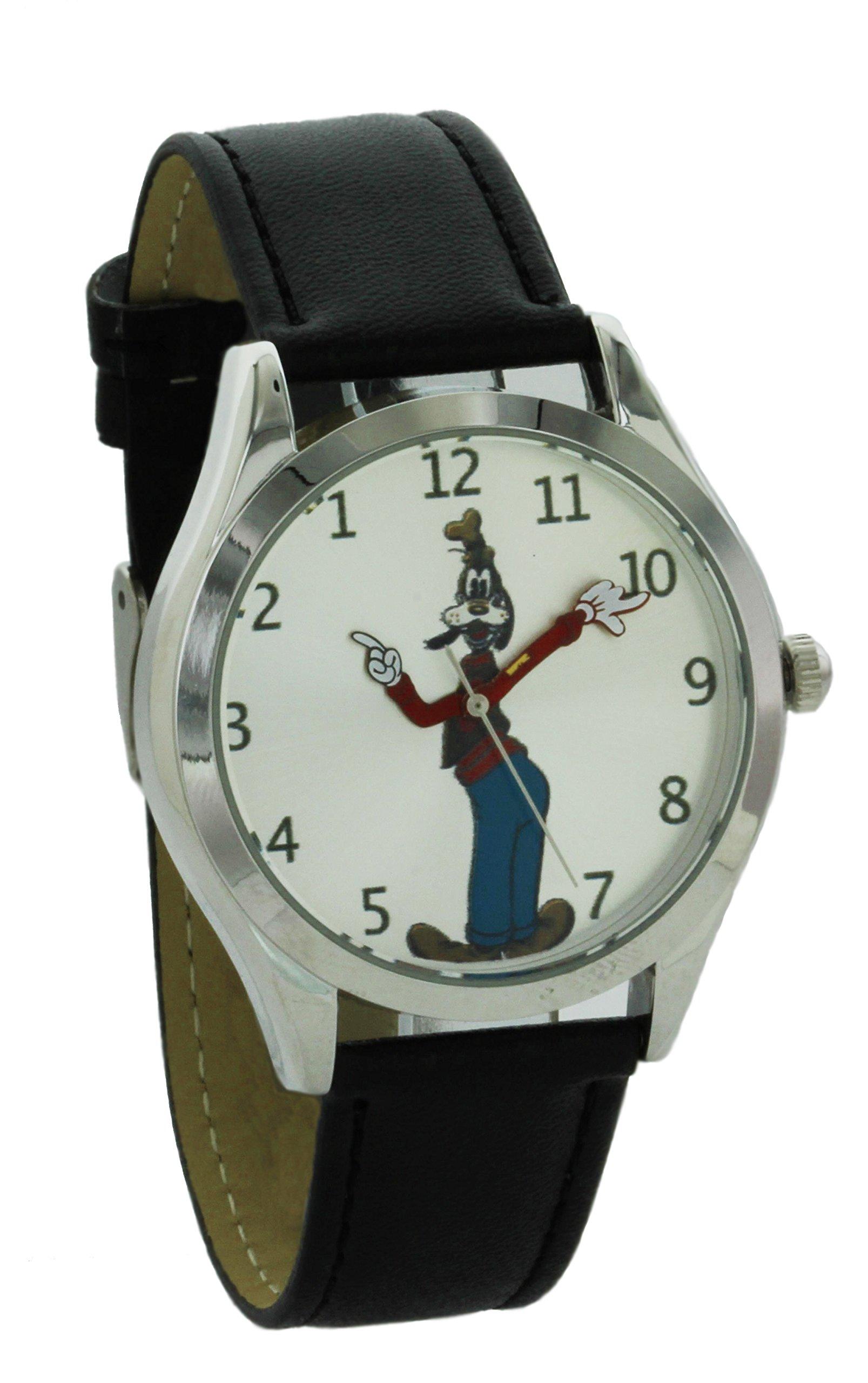 Disney Vintage style backward ticking watch Goofy Molded Hand Quartz watch GFY001
