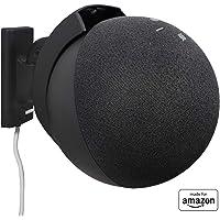 Nuevo soporte de pared Made for Amazon, con inclinación y giro, color negro, para Echo (4.ª generación)