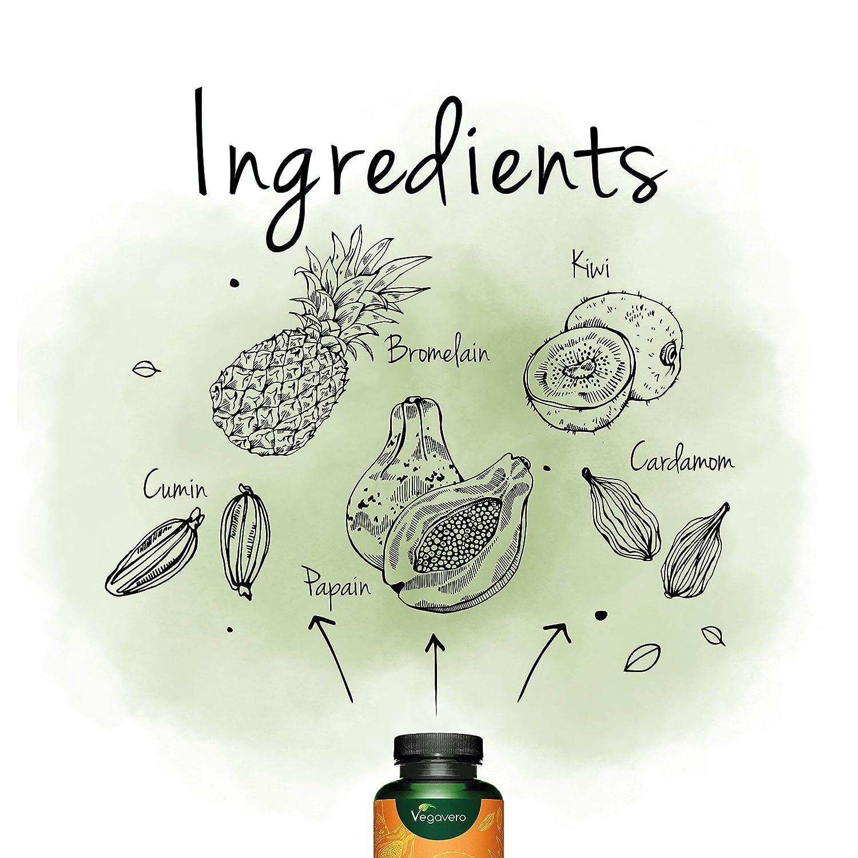 Digestion Complex Vegavero® | 100% Vegetal | Enzimas Digestivas de ...