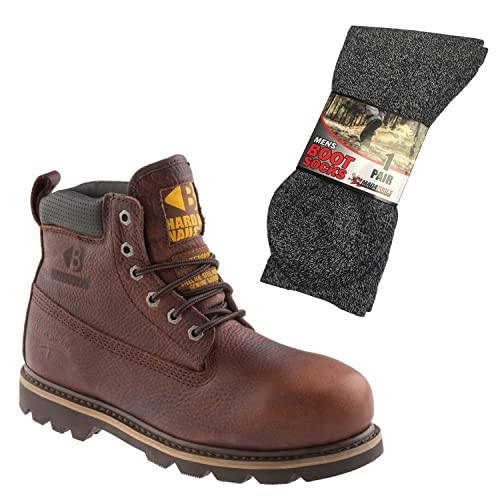 fe2cbcf7cc1 Buckler B750SMWP Waterproof Safety Boots & mad4tools Boot Socks ...
