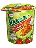 Knorr Snack Bar Spaghetti inTomaten Sauce, 8er Pack (8 x 70 g)