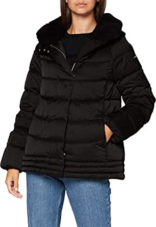 Geox W Chloo Mid Parka Mujer