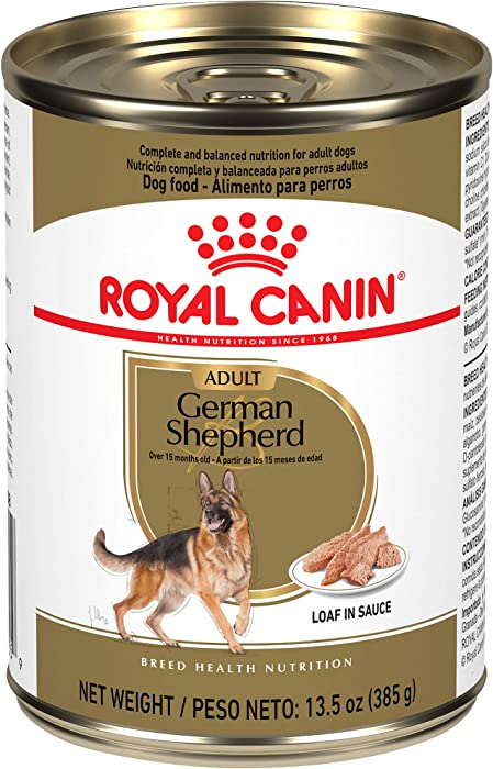 Top 10 German Shepherd Variety Cannned Food