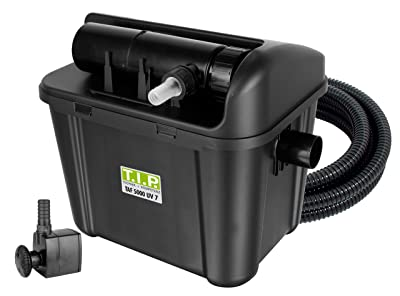 T.I.P. TAF 5000 UV 7 Pond Filter, UV-C 7 Watt, for Ponds up to 5000 Litres