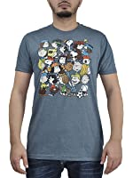 Peanuts Gang Snoopy Mens Graphic Print T-Shirts