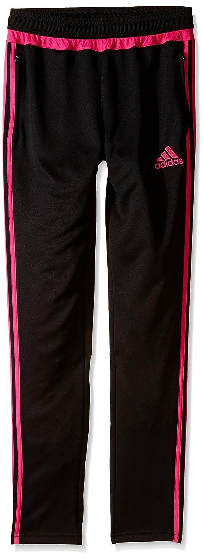 Adidas ユース Tiro 15トレーニングパンツ B010RZYU08 X-Large|Black/Shock Pink Black/Shock Pink X-Large