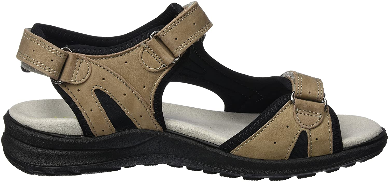 Legero Siris Damen Offene Sandalen Keilabsatz mit Keilabsatz Sandalen Beige (Cloud) 6c06a9
