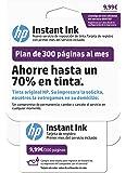 HP Instant Ink - Primer mes del servicio de reposición de tinta de HP, plan de 300 páginas