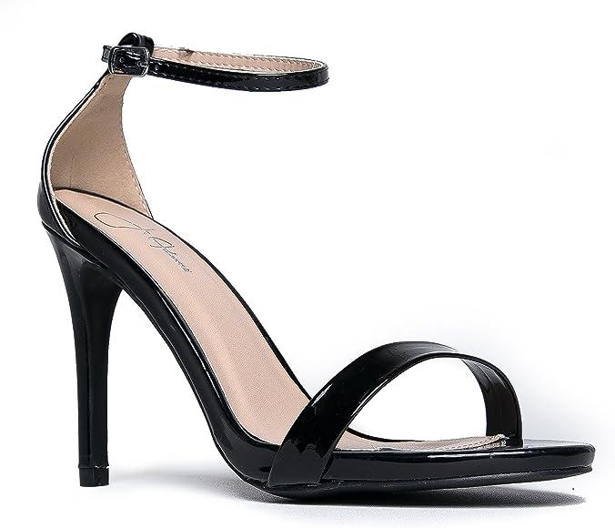 Amazon.com | Aria Ankle Strap High Heel