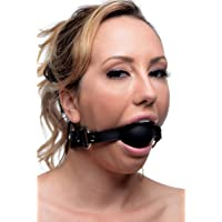 Strict Leather Silicone Ball Gag, 2 Inch, X-Large