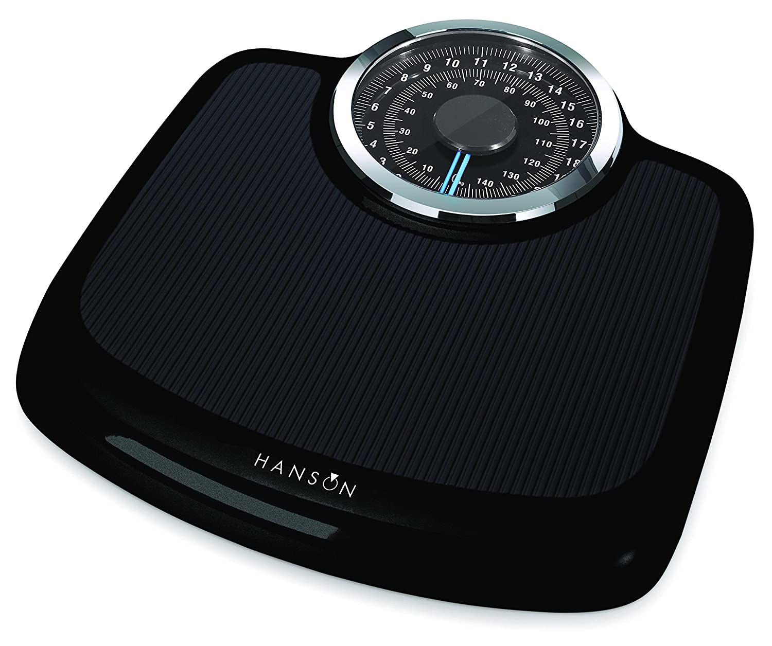 Hanson Neo Black Mechanical Bathroom Scale Terraillon 12874