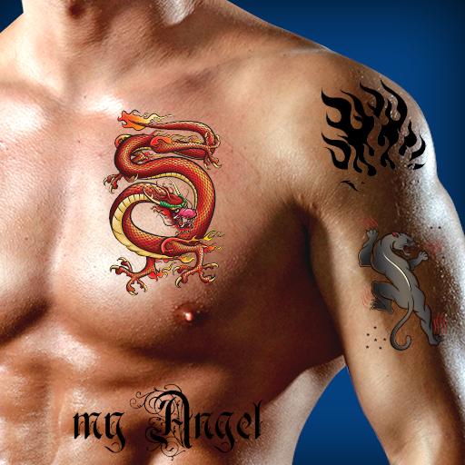 Montaje de la foto del tatuaje:Amazon:Appstore