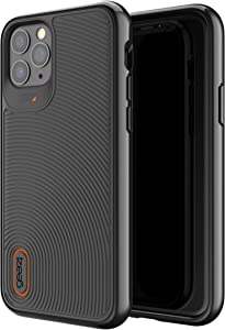 GEAR4 Battersea Compatible with iPhone 11 Pro Case, Advanced Impact Protection with Integrated D3O Technology Phone Cover - Black