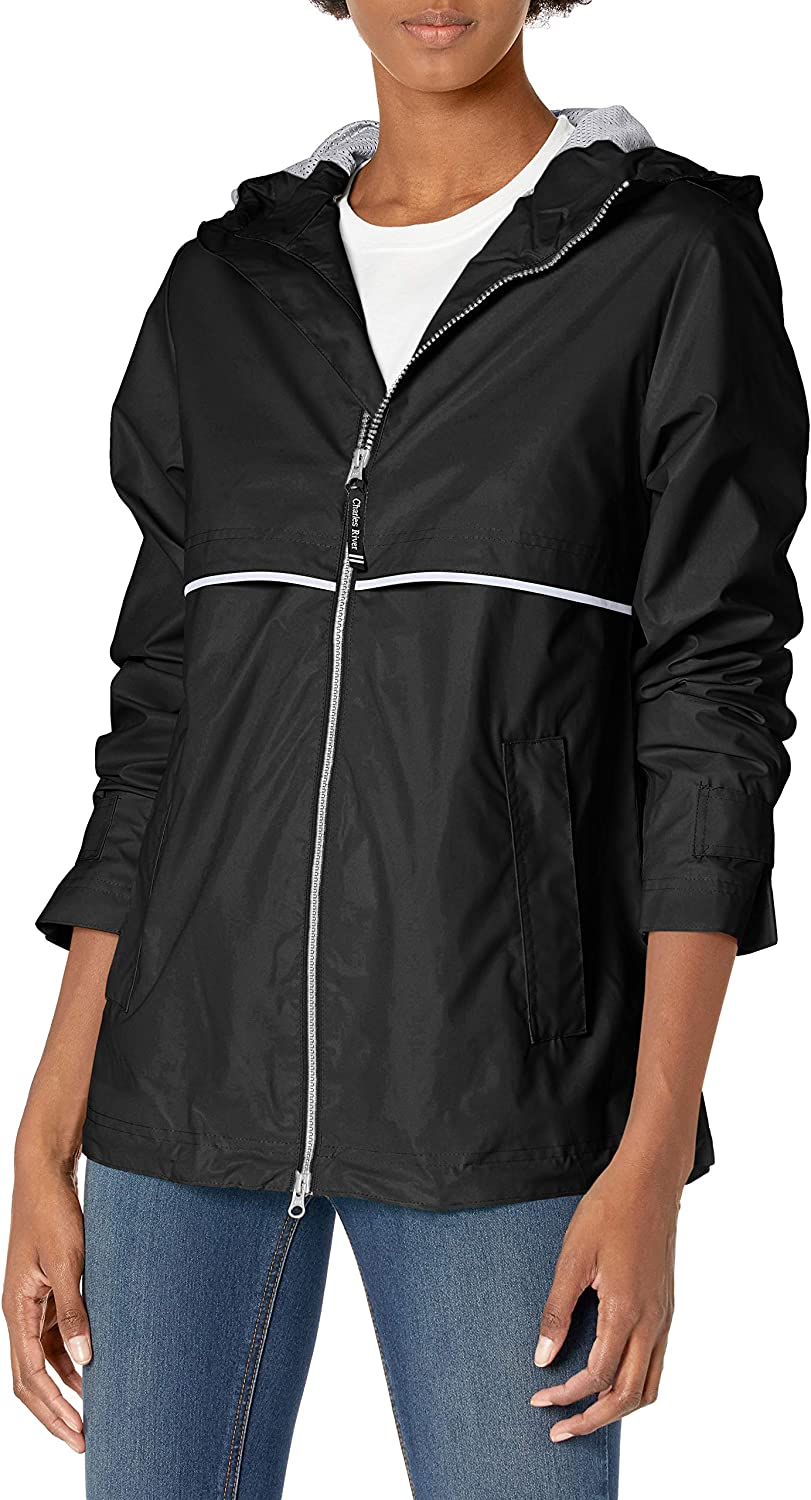 Amazon Com Charles River Apparel Womens New Englander Wind Waterproof Rain Jacket Clothing Waterproof, breathable bib trousers are the latest addition to the popular weather watch line of rain gear from grundens. charles river apparel womens new englander wind waterproof rain jacket