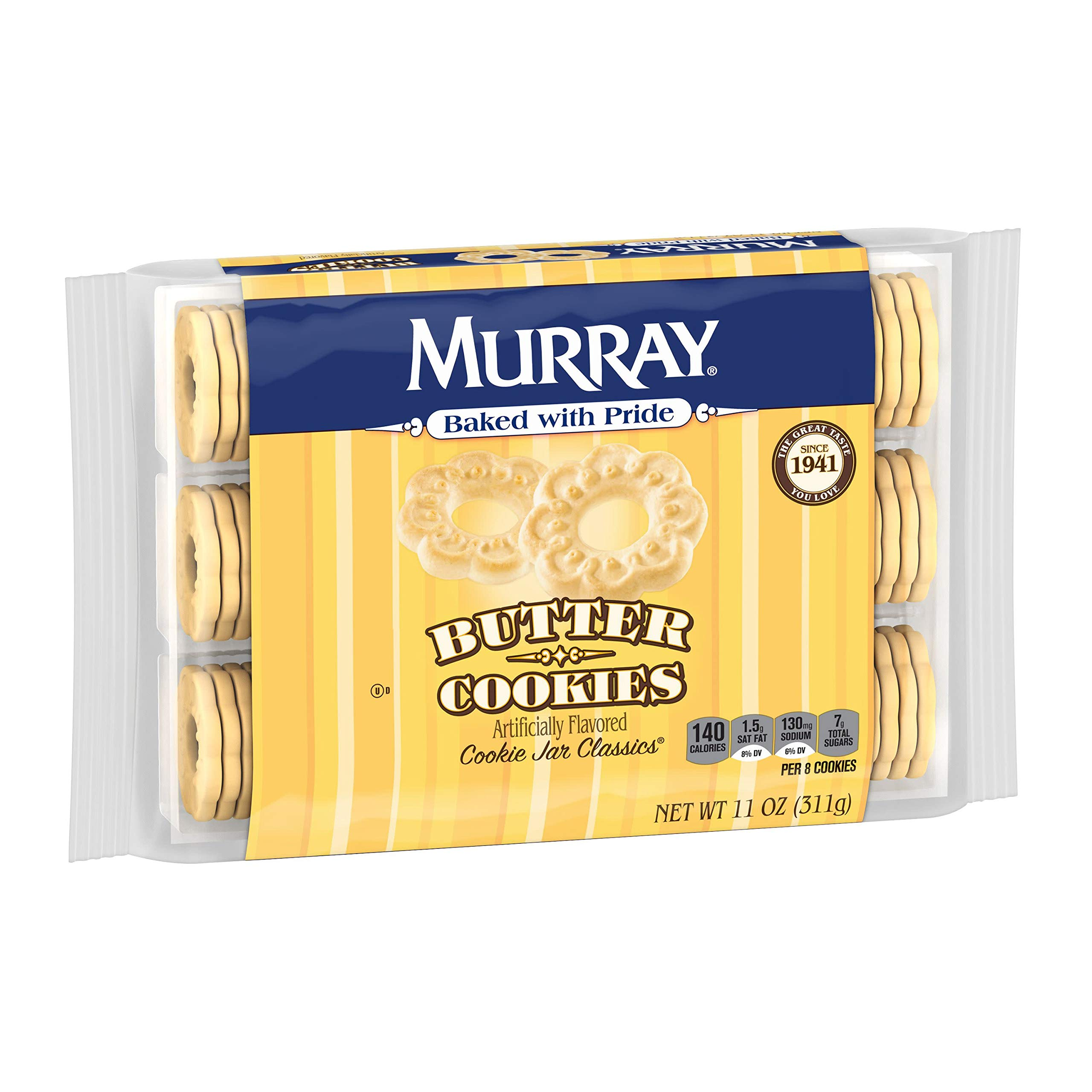 Murray Cookies, Butter, 11 oz Tray