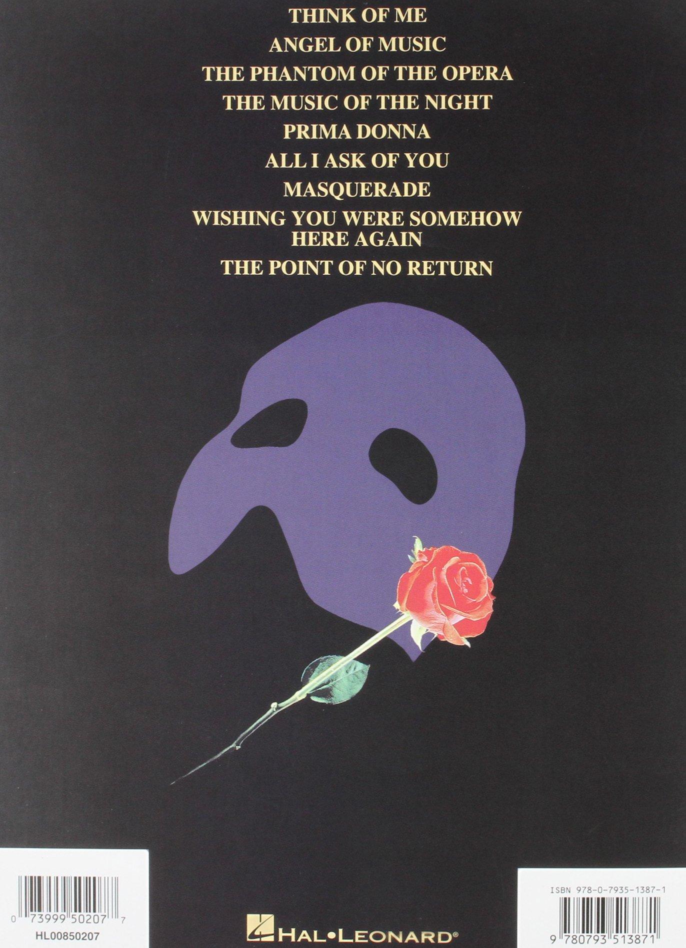 Amazon Com The Phantom Of The Opera Violin 9780793513871
