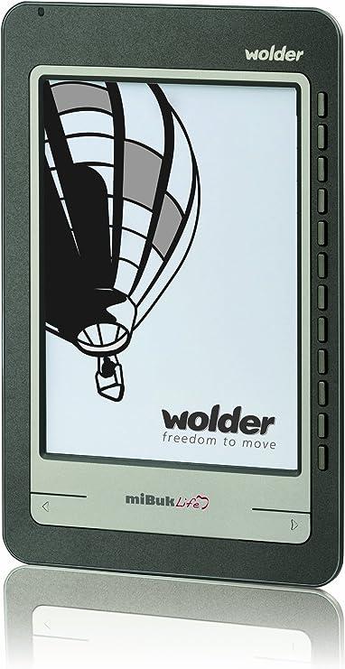 Wolder miBuk Life Lector de libros electrónicos, 6 pulgadas ...