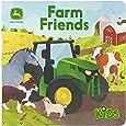 Farm Friends Lift-a-Flap Board Book (John Deere Kids) (John Deere Lift-A-Flap Board Book)