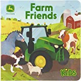 Farm Friends Lift-a-Flap Board Book (John Deere Kids) (John Deere Lift-A-Flap Board Book)