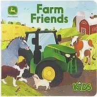 Farm Friends Lift-a-Flap Board Book (John Deere Kids)