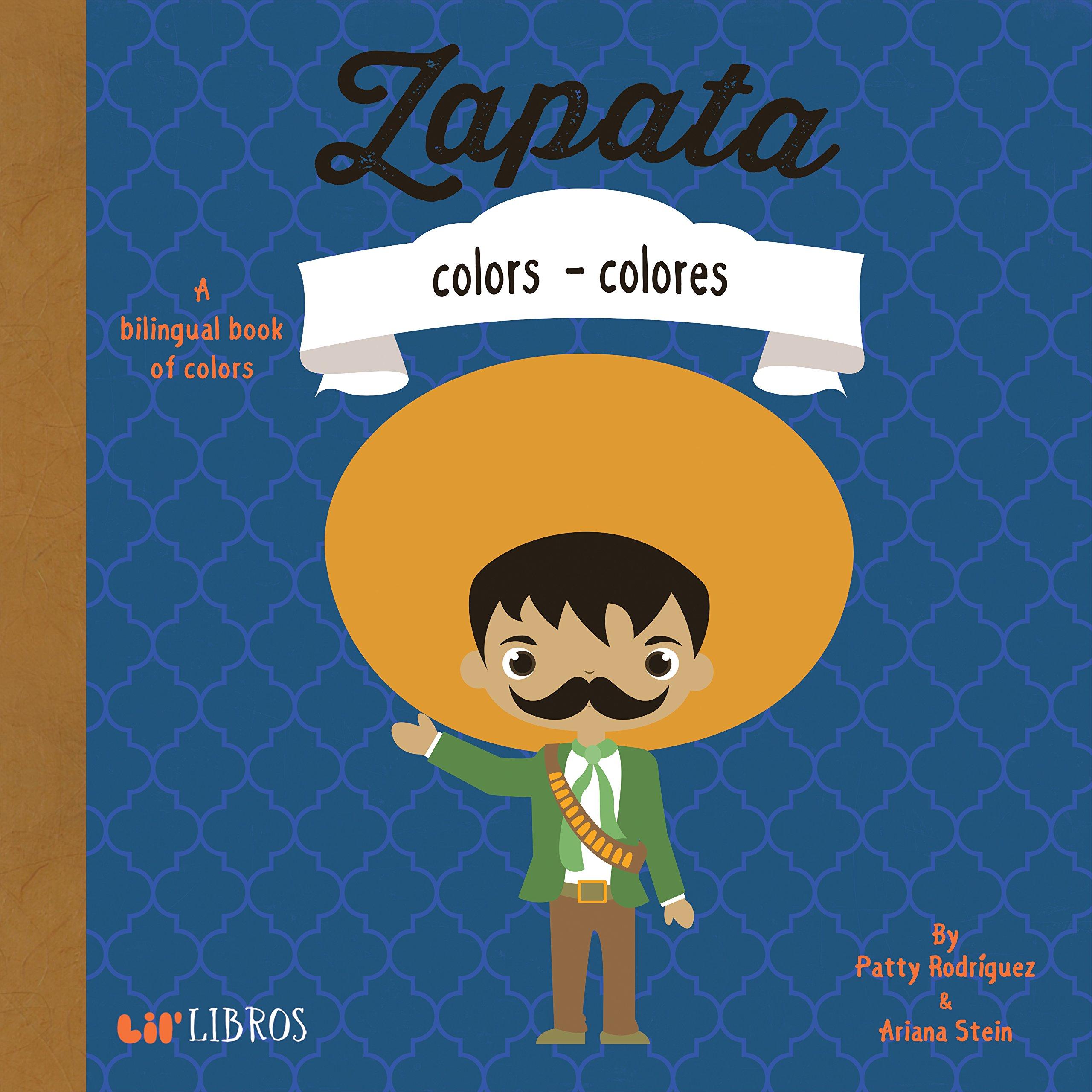 Amazon Zapata Colors Colores English and Spanish Edition