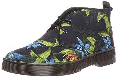 Dr. Martens DAYTONA Canvas BLACK HAWAIIAN, Damen Desert Boots, Schwarz (black), 41 EU