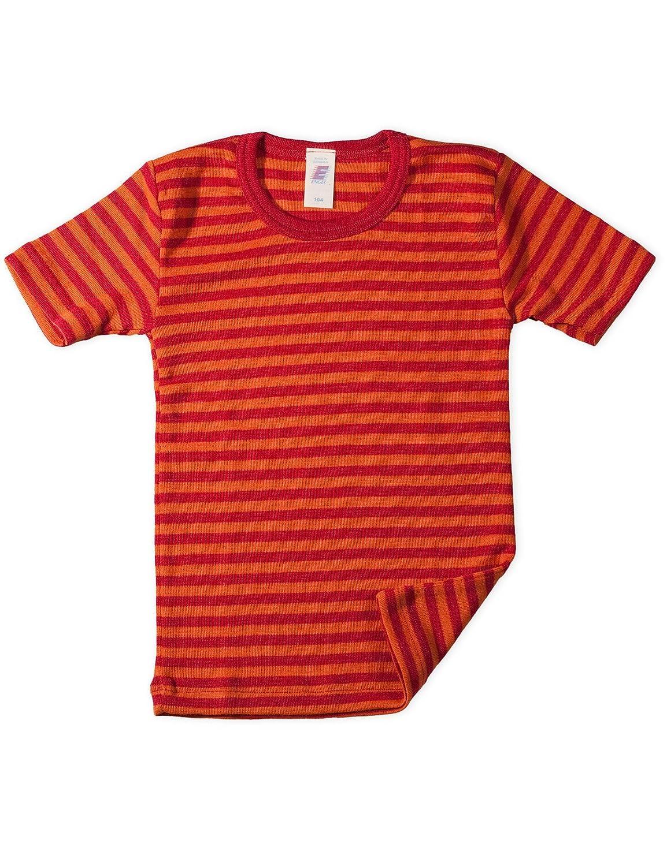 Engel, Maglia a maniche corte per bambini, a forma di angioletto, lana Seta 727800