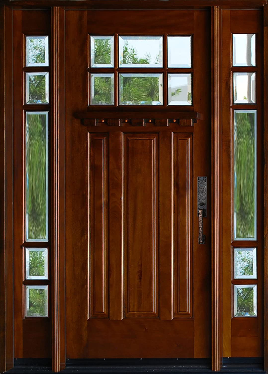 Exterior Mahagany Front Wood Entry Door M36 - - Amazon.com