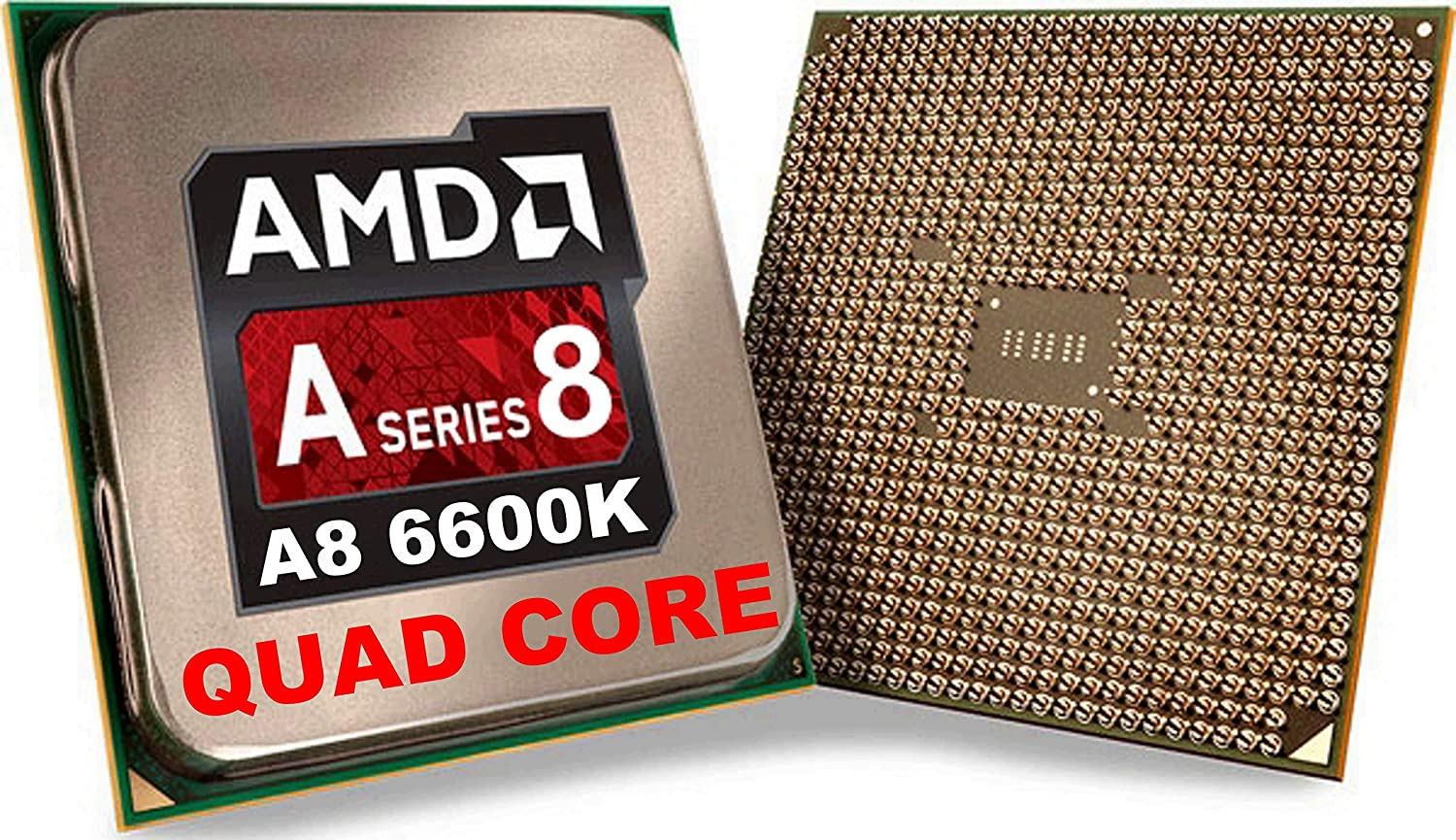 Amazon Com Amd A8 6600k Quad Core 4 Core 3 90 Ghz Processor Socket Fm2oem Pack 4 Mb Yes 4 20 Ghz Overclocking Speed 32 Nm Amd Radeon Hd