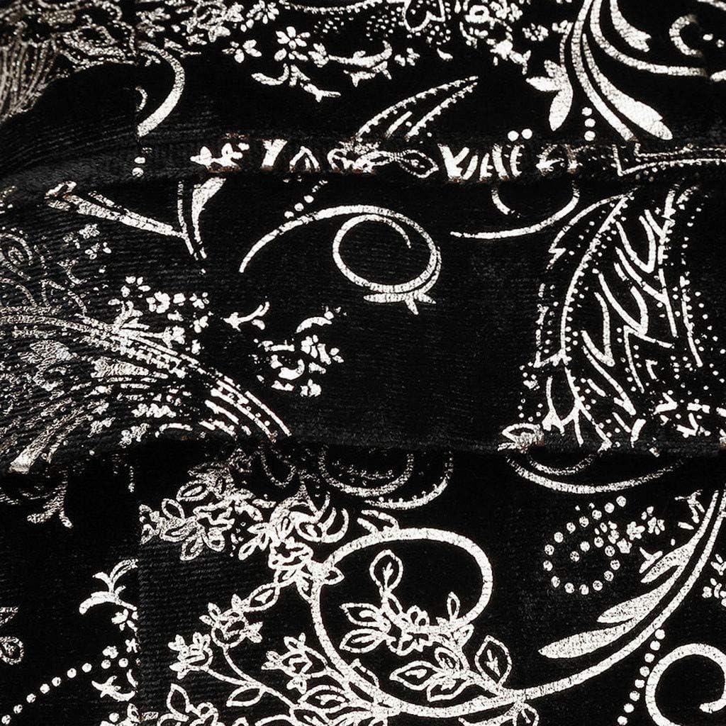Giacca Blazer Uomo Classica Jacquard da Uomo Abito con Un Bottone A Grana Scura Slim Fit Formale Suit Giacche Invernale Smoking da Uomo Cocktail Party Outwear Vintage Festa Lavoro Giacche