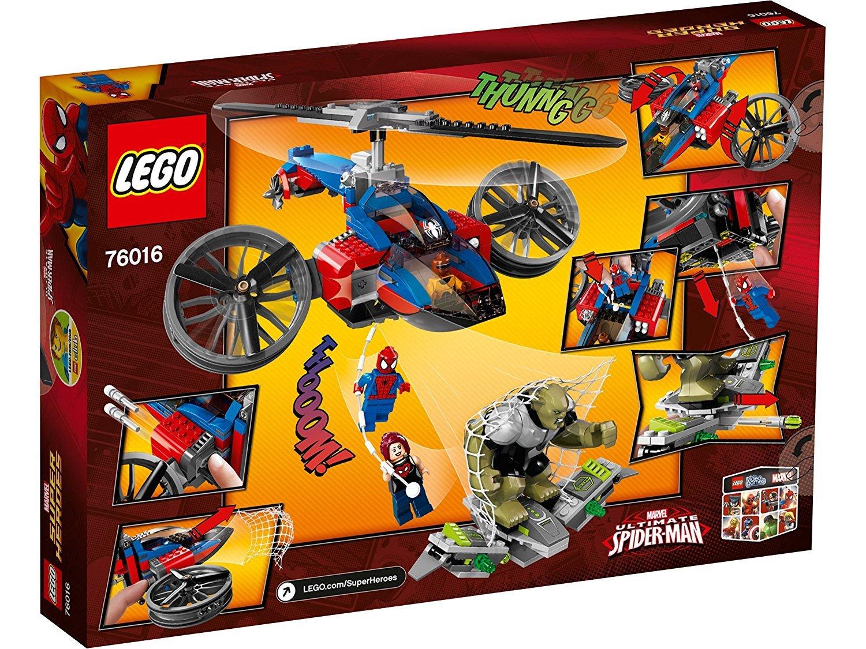 LEGO Marvel Super Heroes 76016 - Rettung mit dem Spider-Helikopter B00F3B3SMI Bau- & Konstruktionsspielzeug Verkaufspreis   Sonderangebot