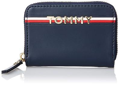 Tommy Hilfiger Corp Leather Mini Za, Portefeuilles femme