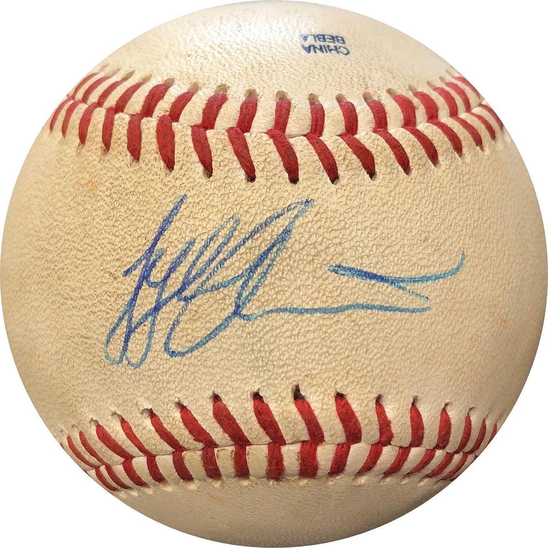 Signed Tyler Austin Baseball - OELB Auth - JSA Certified - Autographed Baseballs