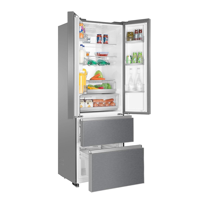 Haier HB20FPAAA - Combinación de nevera y congelador (puerta ...