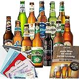 """12x Bier Geschenke""""Welt & Deutschland"""" Geschenkset mit Bier aus Türkei"""
