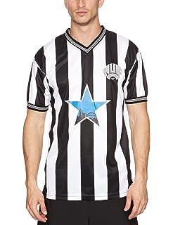 Newcastle United 1996 Men s Retro Football Shirt  Amazon.co.uk ... 53bdaafe3