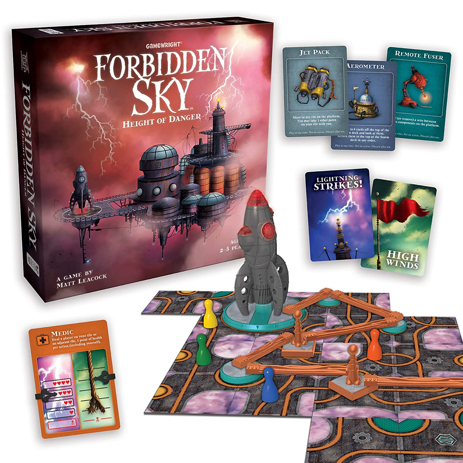 GameWright 424 Forbidden Sky - Height of Danger FORS